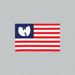 tee shirt Wu tang clan flag...