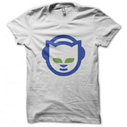 napster tee white sublimation