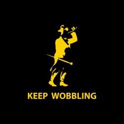Keep wobbling black...
