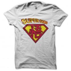 tee shirt superman goku...