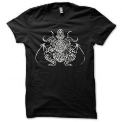 Cthulhu symbol grungy black...