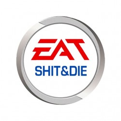 tee shirt Eat shit and die...
