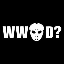 tee shirt WWJD black...