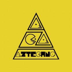 Logo Aztechno yellow sublimation t-shirt