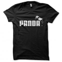 tee shirt Panda parody puma...
