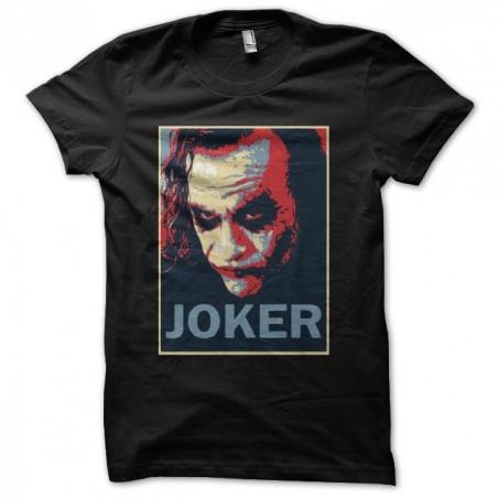 Tee shirt parodie hope Joker Heath Ledger    sublimation