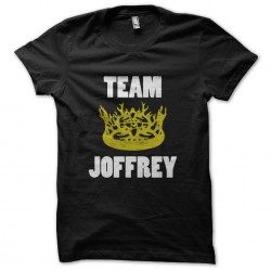 t-shirt team joffrey black...