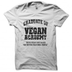 shirt vegan academy white...