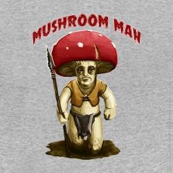 shirt mushroom man gray...