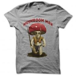 shirt mushroom man gray sublimation
