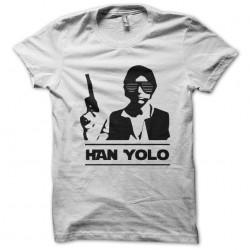 t-shirt Han yolo white...