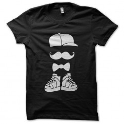 tee shirt hispter moustache...