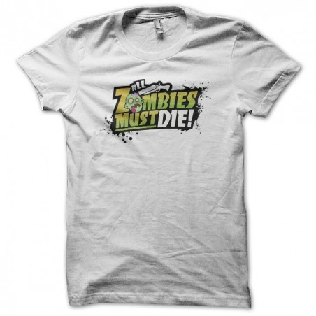 Tee shirt All Zombies Must Die  sublimation