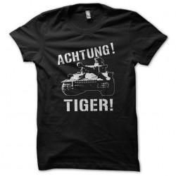 t-shirt Achtung tiger black...