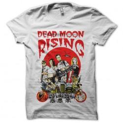 Dead moon rising white...